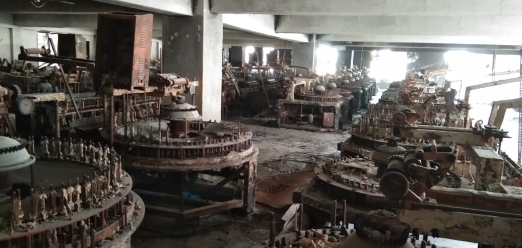 fire-damaged-scrap-of-building-plant-machinery-accessories-fff-as-well-as-stock-items