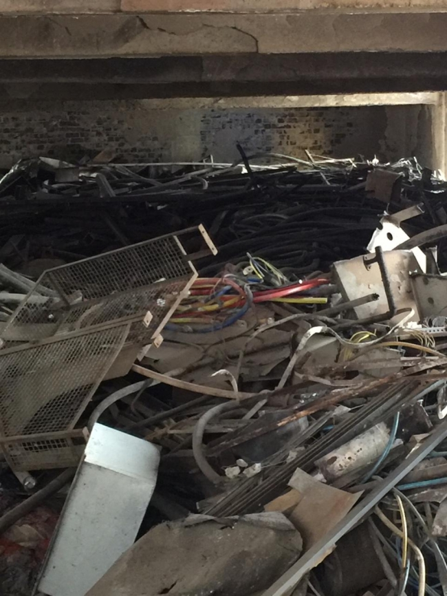 Fire Affected Stock of Cables