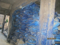 fire-affected-stock-of-cpc-alpha-blue-chemicals