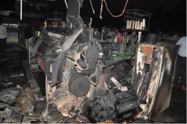 Fire Affected Stock of Machinery Scrap